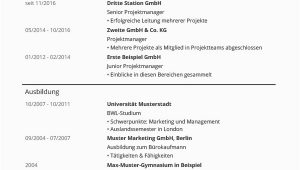 Lebenslauf Vorlagen Schlicht Lebenslauf Vorlagen & Muster Kostenloser Download Als Pdf