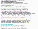 Level C1 Englisch Im Lebenslauf 30 Cover Letter for Job Application In 2020