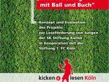 """Liz Pichon Lebenslauf Deutsch Das Projekt """"kicken & Lesen Köln"""" Leseförderung Mit Ball"""