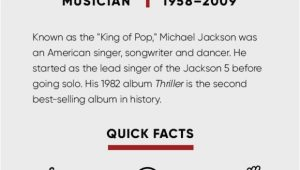 Michael Jackson Lebenslauf Englisch Michael Jackson Kids songs & Thriller Biography