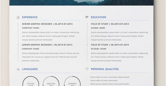 Moderner Lebenslauf Indesign 10 Best Free Resume Cv Templates In Ai Indesign Word