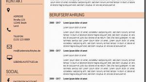 Moderner Lebenslauf Vorlage Pages Lebenslauf Muster Vorlage 1 Mit Bildern