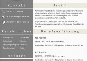 "Moderner Lebenslauf Word Moderne Lebensläufe Lebenslauf ""full attention"" Als Download"