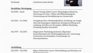 Rav Lebenslauf Vorlagen Lebenslauf Vorlagen & Muster Für Bewerbung In Der Schweiz