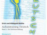 Suzanne Collins Lebenslauf Deutsch Aufsatztraining Deutsch Band 1 Die Erlebniserzählung