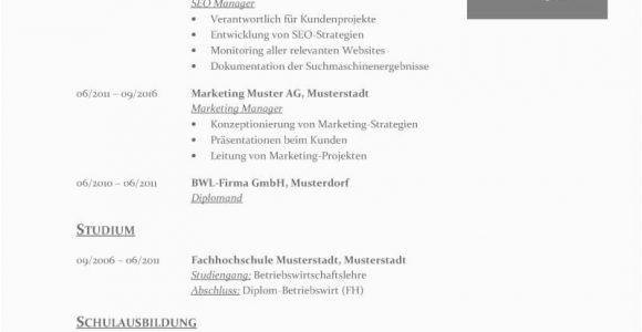 Tabellarischer Lebenslauf Deutsch Vorlage Tabellarischer Lebenslauf Vorlage Kostenlose Muster Zum