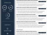 Vorlagen Lebenslauf Design Premium Bewerbungsmuster 3